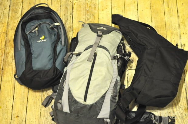 """Packing your life into bags has a way of helping you figure out what you actually """"need""""."""