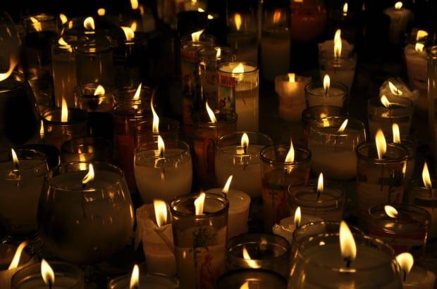 Prayer Candles in Panajachel, Guatemala