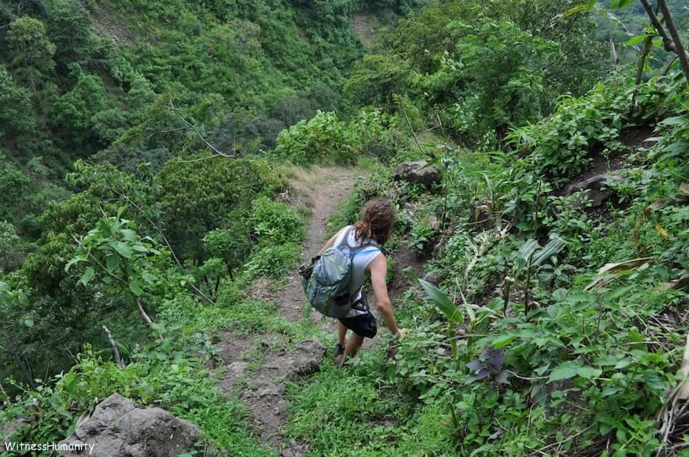 Hiking Near Lake Atitlan