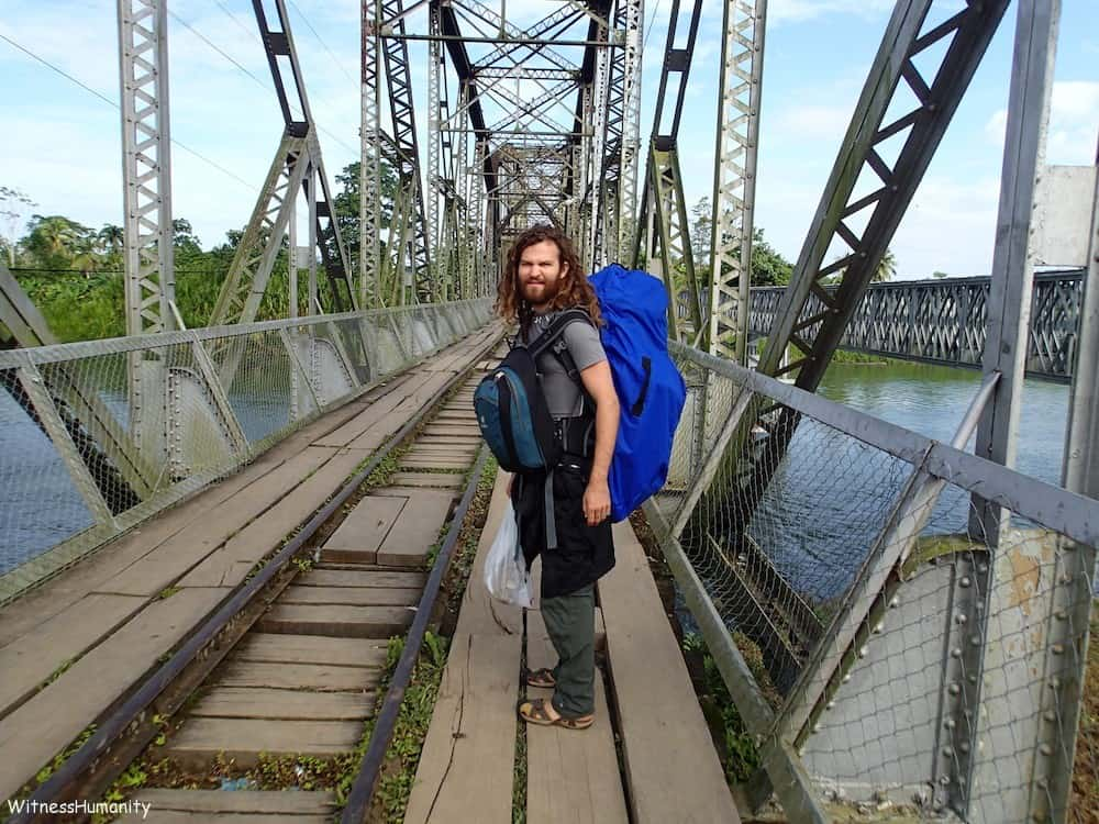 Walking from Panama to Costa Rica