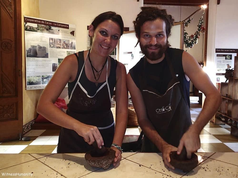 Making Chocolate- Granada, Nicaragua